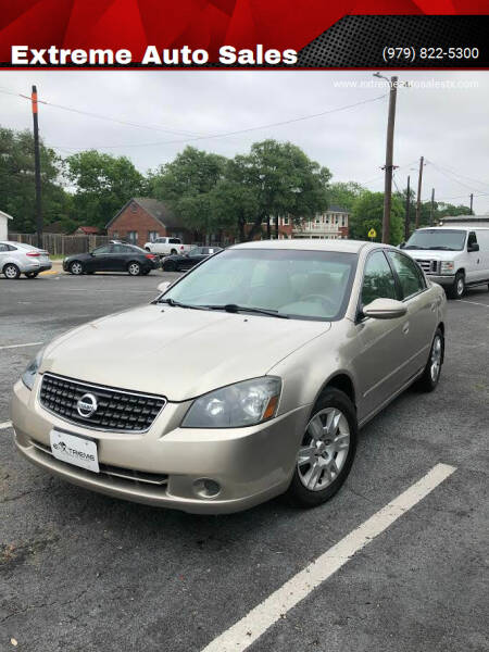 2006 Nissan Altima for sale at Extreme Auto Sales in Bryan TX