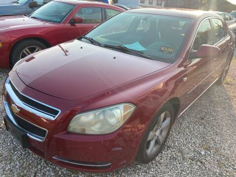 2008 Chevrolet Malibu for sale at GREENLIGHT AUTO SALES in Akron OH