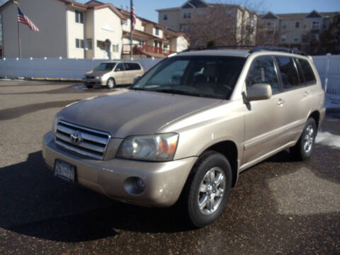 2007 Toyota Highlander for sale at Metro Motor Sales in Minneapolis MN