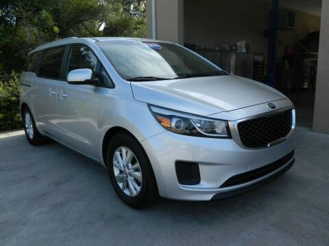 2016 Kia Sedona for sale at Jeff's Auto Sales & Service in Port Charlotte FL