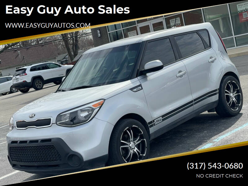 2016 Kia Soul for sale at Easy Guy Auto Sales in Indianapolis IN