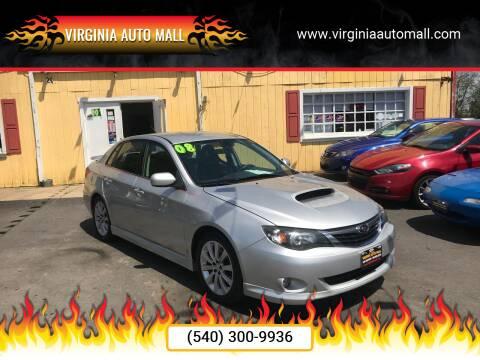 2008 Subaru Impreza for sale at Virginia Auto Mall in Woodford VA