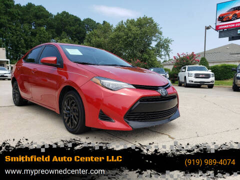 2019 Toyota Corolla for sale at Smithfield Auto Center LLC in Smithfield NC