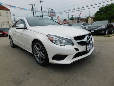 2014 Mercedes-Benz E-Class for sale at AMD AUTO in San Antonio TX