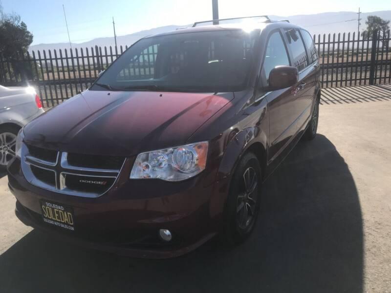 2017 Dodge Grand Caravan for sale at Soledad Auto Sales in Soledad CA