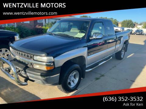 2000 Chevrolet Silverado 1500 for sale at WENTZVILLE MOTORS in Wentzville MO