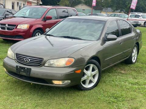 2002 Infiniti I35 for sale at Texas Select Autos LLC in Mckinney TX