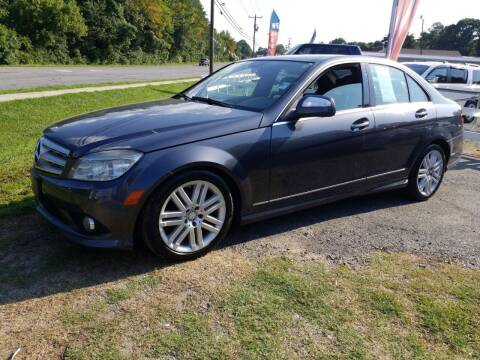 2009 Mercedes-Benz C-Class for sale at TR MOTORS in Gastonia NC