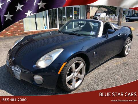 2006 Pontiac Solstice for sale at Blue Star Cars in Jamesburg NJ