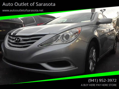 2013 Hyundai Sonata for sale at Auto Outlet of Sarasota in Sarasota FL