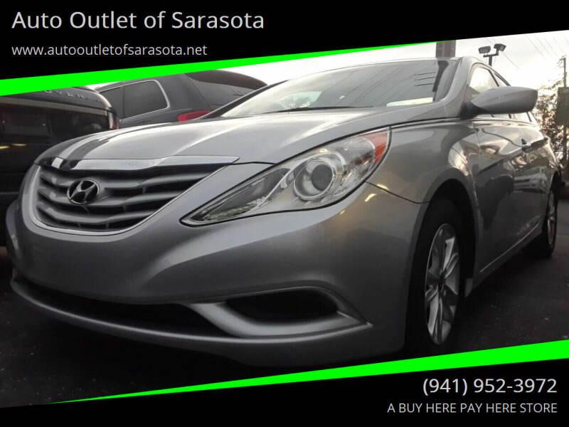 2013 Hyundai Sonata for sale at Auto Outlet of Sarasota in Sarasota FL