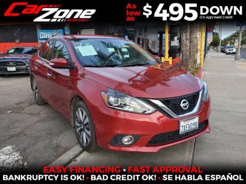 2017 Nissan Sentra for sale at Carzone Automall in South Gate CA