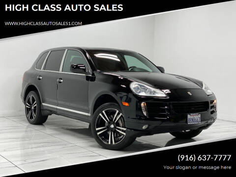 2009 Porsche Cayenne for sale at HIGH CLASS AUTO SALES in Rancho Cordova CA