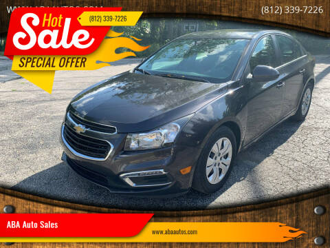 2015 Chevrolet Cruze for sale at ABA Auto Sales in Bloomington IN