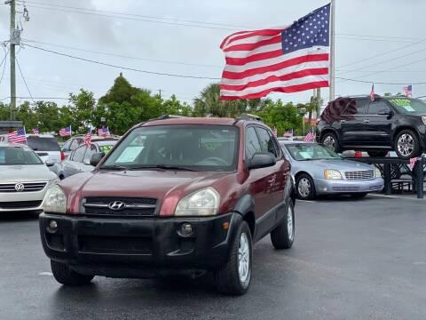 2006 Hyundai Tucson for sale at KD's Auto Sales in Pompano Beach FL