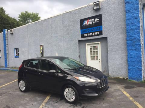 2014 Ford Fiesta for sale at AME Auto in Scranton PA