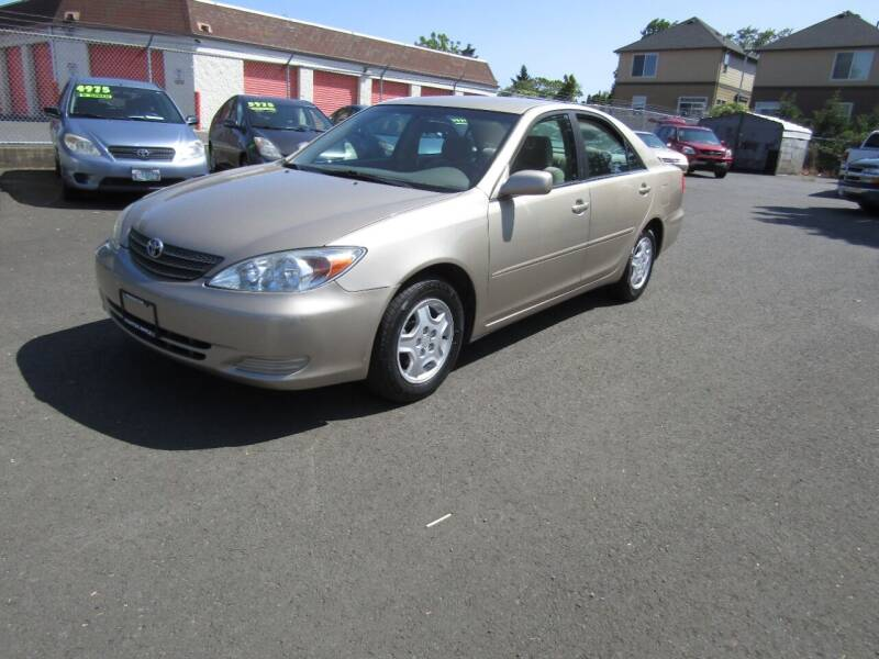 2002 Toyota Camry for sale at ARISTA CAR COMPANY LLC in Portland OR