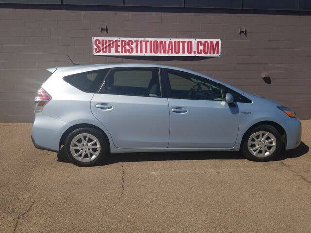 2015 Toyota Prius v for sale at Superstition Auto in Mesa AZ