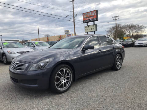 2007 Infiniti G35 for sale at Autohaus of Greensboro in Greensboro NC