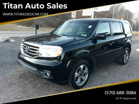 2015 Honda Pilot for sale at Titan Auto Sales in Berwick PA