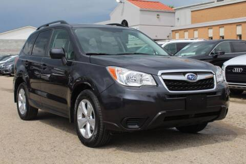 2015 Subaru Forester for sale at SHAFER AUTO GROUP in Columbus OH