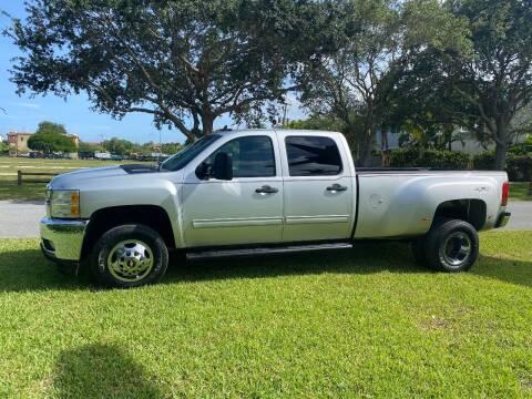 2012 Chevrolet Silverado 3500HD for sale at BIG BOY DIESELS in Fort Lauderdale FL