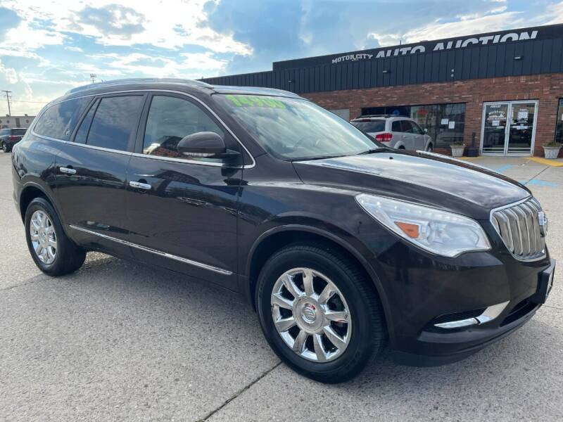 2013 Buick Enclave for sale at Motor City Auto Auction in Fraser MI