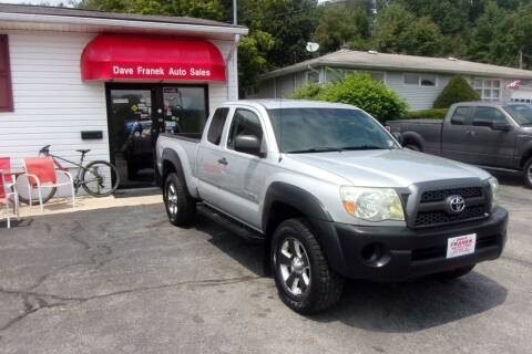 2011 Toyota Tacoma for sale at Dave Franek Automotive in Wantage NJ
