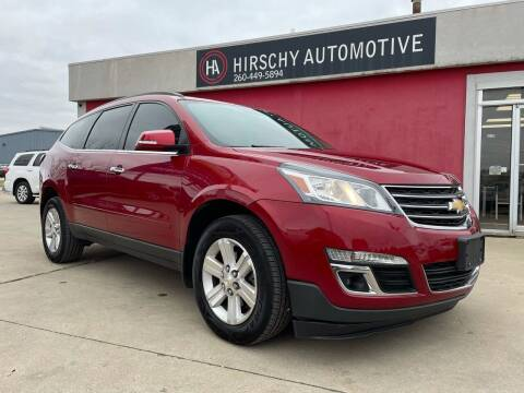 2014 Chevrolet Traverse for sale at Hirschy Automotive in Fort Wayne IN