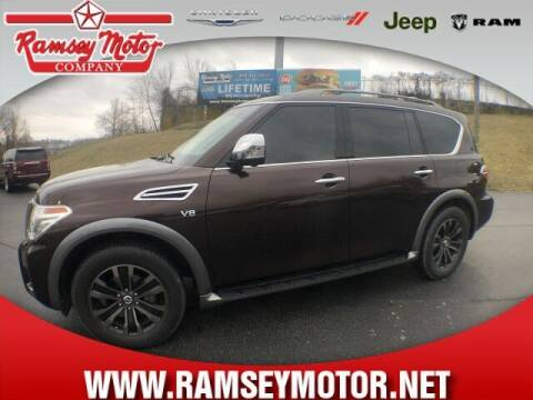 2017 Nissan Armada for sale at RAMSEY MOTOR CO in Harrison AR