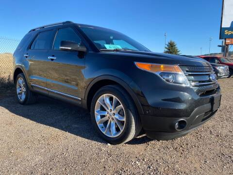 2014 Ford Explorer for sale at FAST LANE AUTOS in Spearfish SD