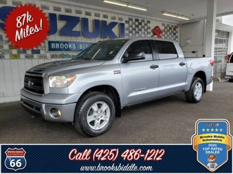 2011 Toyota Tundra for sale at BROOKS BIDDLE AUTOMOTIVE in Bothell WA