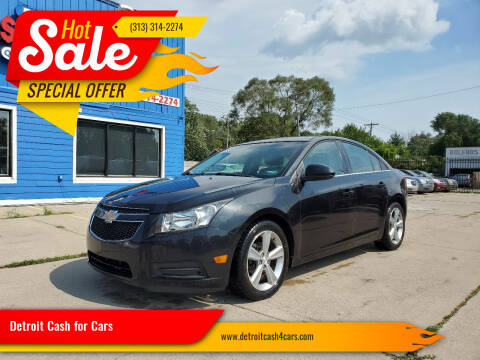 2012 Chevrolet Cruze for sale at Detroit Cash for Cars in Warren MI