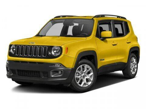 2017 Jeep Renegade for sale at DAVID McDAVID HONDA OF IRVING in Irving TX