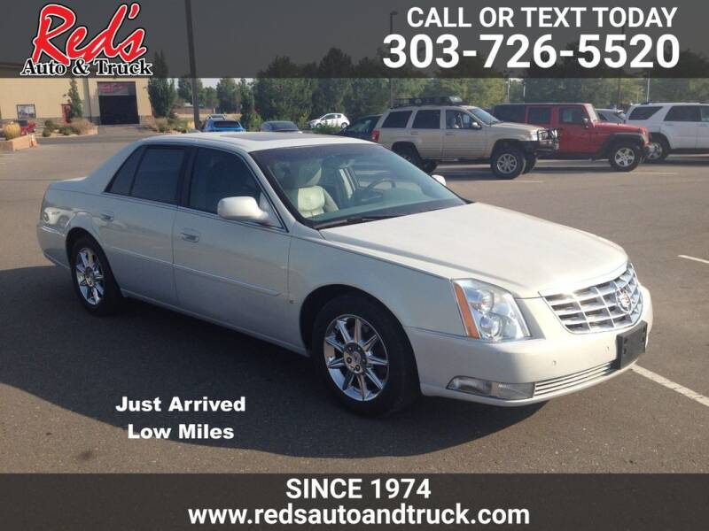 2010 Cadillac DTS for sale at Red's Auto and Truck in Longmont CO