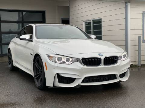 2015 BMW M4 for sale at Lux Motors in Tacoma WA