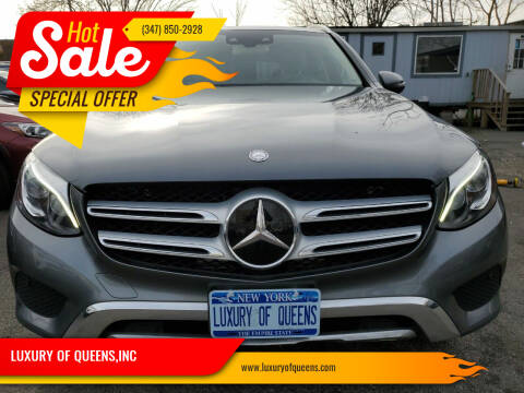 2017 Mercedes-Benz GLC for sale at LUXURY OF QUEENS,INC in Long Island City NY