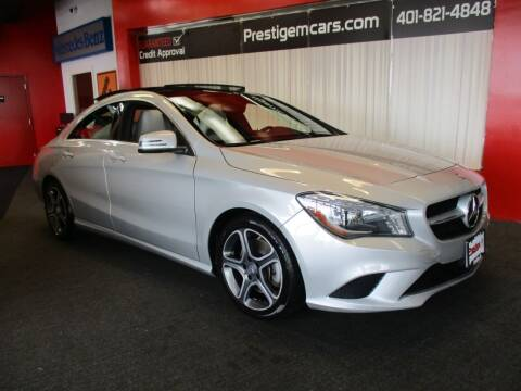 2014 Mercedes-Benz CLA for sale at Prestige Motorcars in Warwick RI