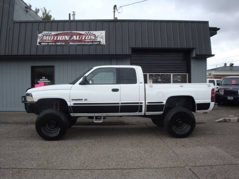 1999 Dodge Ram Pickup 2500 for sale at Motion Autos in Longview WA