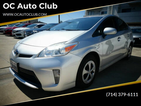 2014 Toyota Prius for sale at OC Auto Club in Midway City CA