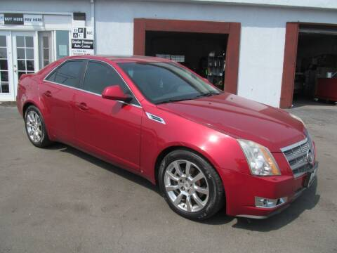 2009 Cadillac CTS for sale at Dealer Finance Auto Center LLC in Sacramento CA
