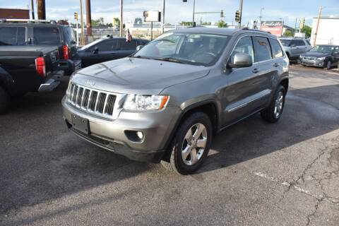 2012 Jeep Grand Cherokee for sale at Good Deal Auto Sales LLC in Denver CO