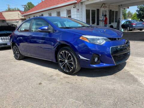 2016 Toyota Corolla for sale at STS Automotive in Denver CO
