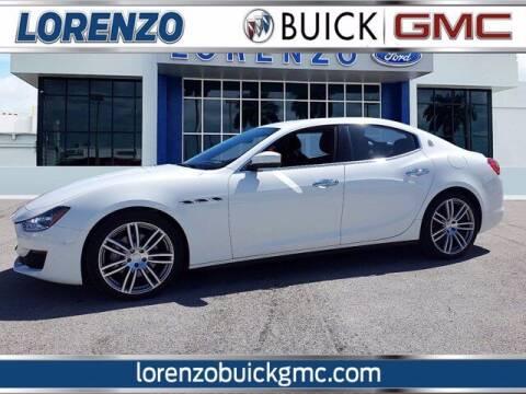 2019 Maserati Ghibli for sale at Lorenzo Buick GMC in Miami FL