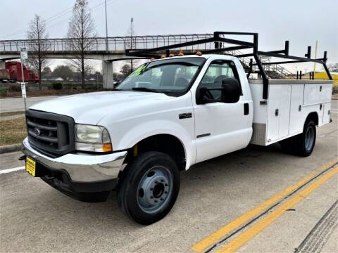 2002 Ford F-450 Super Duty for sale at SARCO ENTERPRISE inc in Houston TX