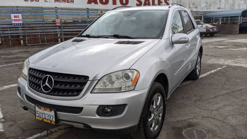 2006 Mercedes-Benz M-Class for sale at Best Deal Auto Sales in Stockton CA