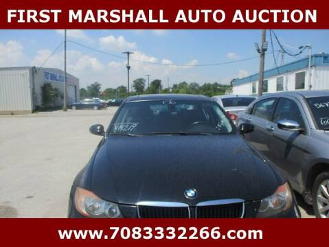 2006 BMW 3 Series for sale at First Marshall Auto Auction in Harvey IL