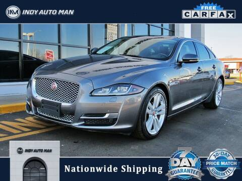 2016 Jaguar XJ for sale at INDY AUTO MAN in Indianapolis IN