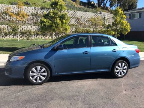 2013 Toyota Corolla for sale at CALIFORNIA AUTO GROUP in San Diego CA