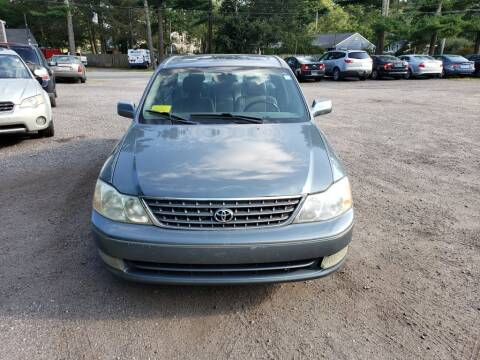 2003 Toyota Avalon for sale at 1st Priority Autos in Middleborough MA